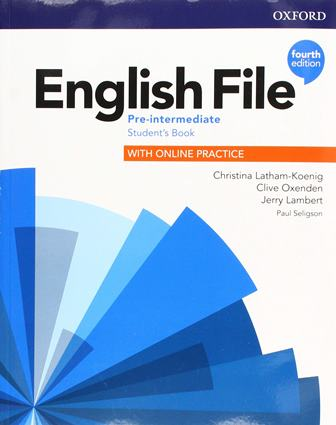 English File 4Ed Pre-Intermediate Student's Book with Online Practice