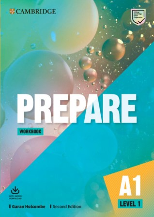 Cambridge English Prepare! 2Ed 1 Workbook + Audio Download