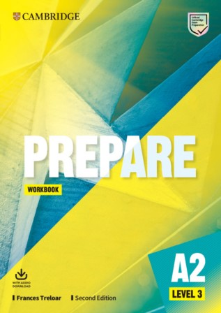 Cambridge English Prepare! 2Ed 3 Workbook + Audio Download