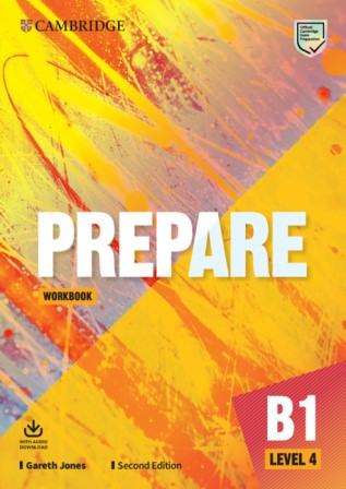 Cambridge English Prepare! 2Ed 4 Workbook + Audio Download