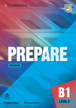 Cambridge English Prepare! 2Ed 5 Workbook + Audio Download