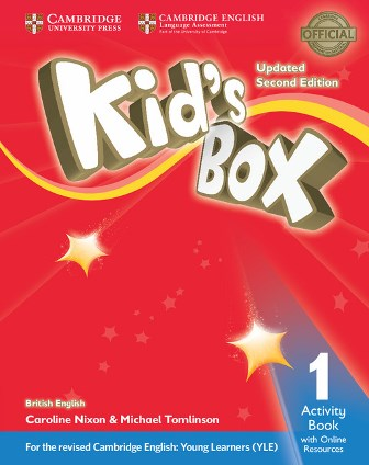 Kid's Box Updated 2Ed 1 Activity Book with Online Resources