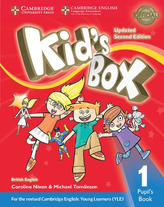 Kid's Box Updated 2Ed 1 Pupil's Book