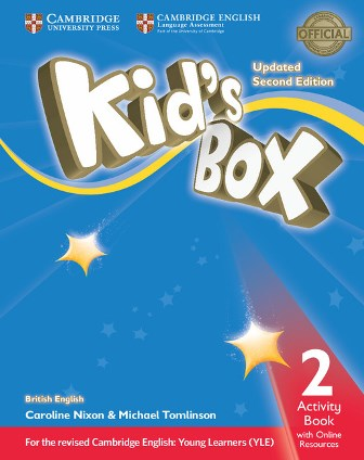 Kid's Box Updated 2Ed 2 Activity Book with Online Resources