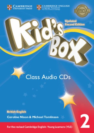 Kid's Box Updated 2Ed 2 Class Audio CDs