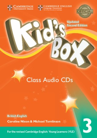 Kid's Box Updated 2Ed 3 Class Audio CDs