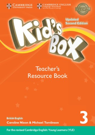 Kid's Box Updated 2Ed 3 Teacher's Resource Book with Online Audio