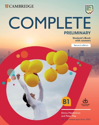 Complete Preliminary Second Edition Self Study Pack (Student's Book with Answers and Online Practice