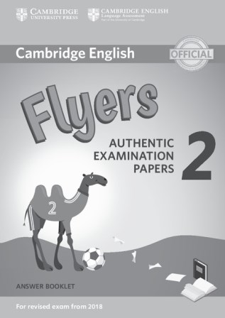 Cambridge English YLE Flyers 2 for Revised Exam 2018 Answer Booklet