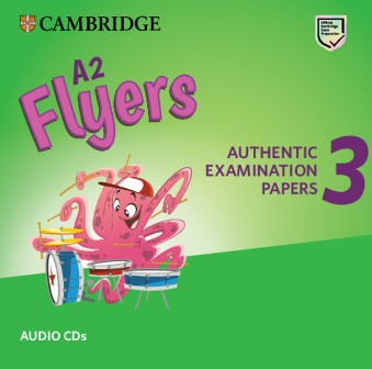 Cambridge English YLE Flyers 3 for Revised Exam 2018 Audio CDs