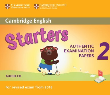 Cambridge English YLE Starters 2 for Revised Exam 2018 Audio CD