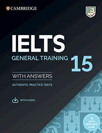 Cambridge IELTS 15 General SB + key + Downloadable Audio