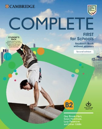 Complete First for Schools 2nd Edition Student's Pack (SB w/o key