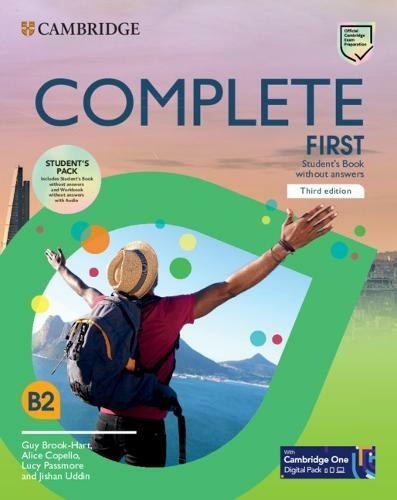 Курс Complete First 3-е издание — это наиболее тщательная подготовка к экзамену B2 First (FCE)